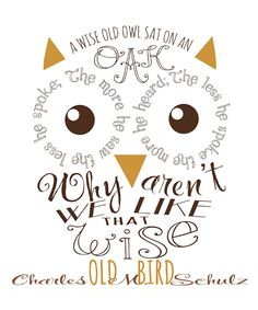 Word Owl - Cute