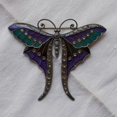 Art Deco Style French Butterfly Vintage by FrenchQueensRansom