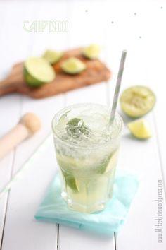 Caipisecco. Super Rezept für Sommerpartys oder zum Grillen. Noch mehr Ideen gibt es auf www.Spaaz.de