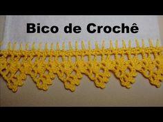 *** Bico em Crochê Carreira Única Super Fácil - YouTube
