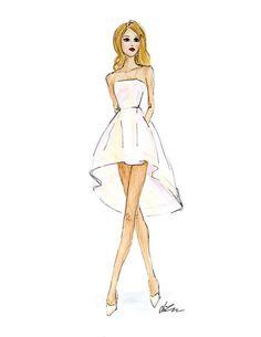 Fashion Illustration: подборка фото модной иллюстрации для вдохновения