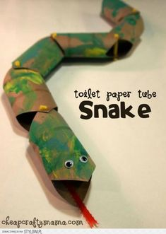 13 Upcycled Toilet Paper Roll Crafts - Crafts To Do With Kids Kids Crafts, Summer Crafts For Kids, Craft Activities For Kids, Crafts To Do, Projects For Kids, Diy For Kids, Craft Projects, Craft Ideas, Letter Activities