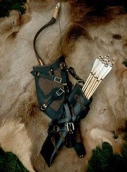 Quiver and Bow case. @ http://www.sevenmeadowsarchery.com