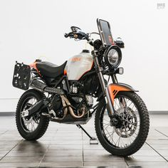 Ducati dirt bike: The Earle Motors Alaskan Desert Sled