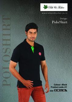 #Polo T shirts #220 gsm #Black