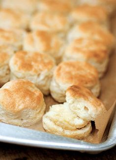 """Southern Buttermilk Biscuits Recipe (This Southern buttermilk biscuits recipe requires nothing more than self-rising flour, butter, and buttermilk. So simple. So easy. And the recipe turns out traditional flaky homemade buttermilk biscuits. Folks are calling them """"spectacular"""" and """"sinful"""" and """"buttery"""" and """"lofty"""" and """"perfect"""" and """"an absolute keeper."""")"""
