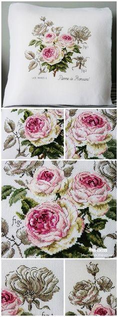 "Moje zacisze: 294. Les roses I  ""Pierre de Ronsand"""