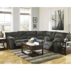 The Ashley Furniture Tambo Reclining Sectional In Pewter At Local Furniture  Outlet Would Be A Great Item To Purchase In Austin, Texas.