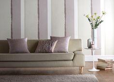 modern, striped wallpaper - Harlequin Tranquil