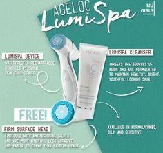Nuskin Nu Skin Ageloc LumiSpa Normal/Combo Kit Brand New w/ Sealed   eBay Nu Skin Ageloc, Beauty Hacks, Beauty Tips, Beauty Box, Smooth Skin, Skin Care, Kit, Pure Products, Knowledge