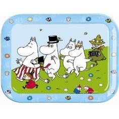 The Moomins Melamine Tray