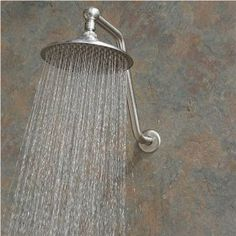 http://www.mobilehomemaintenanceoptions.com/showerheadreplacementoptions.php provides some guidance on replacing and installing a shower head.