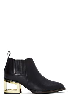 Jeffrey Campbell Metcalf Block Boot | Shop Booties at Nasty Gal