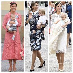 Prinsessor på dop! Vi har fått många frågor om var prinsessornas vackra…