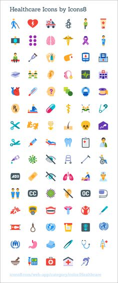 Healthcare Icons by @ coliss Icon Design, Web Design, Graphic Design, Medical Icon, Medical Care, Hospital Design, Health Logo, Le Web, Dinner Recipes For Kids