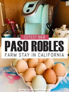 Cutest Paso Robles Bed & Breakfast Farm Stay - Resist the Mundane Usa Travel Guide, Travel Usa, Travel Guides, Travel Tips, Travel Destinations, Food Travel, Travel Articles, Travel Abroad, Canada Travel