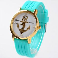This is nice, check it out!   2015 New Geneva  Anchors Fashion Casual Watch Multicolor Silicone Dress Wristwatch High-end Women Watch Relogio Hot Sale Clock - US $3.99 http://jewelrysellonline.com/products/2015-new-geneva-anchors-fashion-casual-watch-multicolor-silicone-dress-wristwatch-high-end-women-watch-relogio-hot-sale-clock/