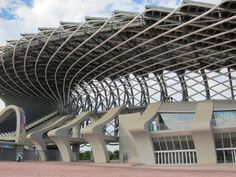 Main stadium for the World Games 2009, in Kaohsiung, Taiwan R.O.C by Pritzker Winner Toyo Ito