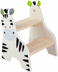Zebra Step Stool by Smart Gear - Toys, http://www.amazon.com/dp/B004UQ6XW4/ref=cm_sw_r_pi_dp_auG8qb1G1GHW5