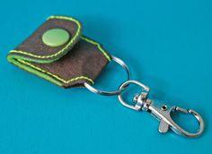 @designsbykasia hat unser SnapPap getestet und u.a. ein Chiptäschchen aus unserem Vegan Leather gemacht #SnapPap
