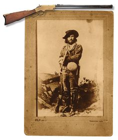 When prospector Ed Shieffelin ventured into the southern Arizona desert, he was told all he would find was his tombstone. Yet armed with his heavy Sharps rifle and a Henry repeater, he discovered silver in San Pedro Valley in 1877, which led to the founding of Arizona's most storied town—Tombstone.  Among the guns used by Schieffelin were a .44 rimfire Henry repeating rifle (no. 2197), a Model 1874 Sharps sporting rifle and a pair of .44-caliber Smith & Wesson single-action revolvers.