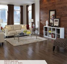 Somerset Floors | Color Strip Collection Smoke