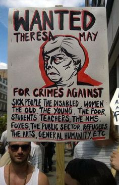 Tory Party, Never Trust, Theresa May, Student Teacher, Just Love, Of My Life, Sick, Crime, Old Things