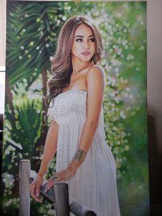 Danielle Lo The model portrait by Hongmin on DeviantArt