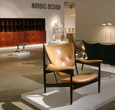We had a great time visiting Phillips de Pury 's breathtaking Howick Place gallery in London, prior to their upcoming Design and Nordic. Armchairs, Sofas, Mid-century Interior, Galleries In London, Inside Design, Nordic Design, Mid Century, Interiors, Places