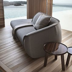 Exteta are known for their high end structures such as gazebos used as outdoor kitchens, bathrooms and luxury spas and comfy sofas.  Designed by Ludovica+Roberto Palomba - winners of multiple international design awards.