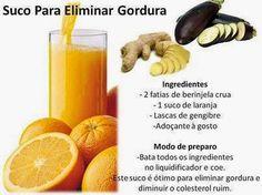 Espaço Holístico COISAS D'ALMA Fernanda Tomaz: Suco para eliminar gordura e colesterol ruim