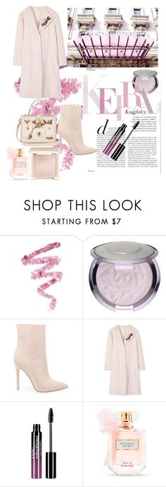 """""""La vie en rose"""" by stefaniabeatrice ❤ liked on Polyvore featuring Cynthia Rowley, Steve Madden, Dolce&Gabbana, Tory Burch, Charlotte Russe, Victoria's Secret and Jouer"""