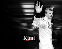 kimi raikkonen...the reason why i fell in love with formula one racing...and because of my husband (: