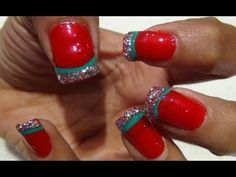 Christmas Nail Art Tutorial - Fantasy