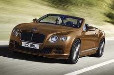 Bentley Continental GT Speed Convertible   www.truefleet.co.uk