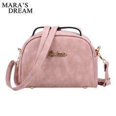 152f5a8c6c22 Mara's Dream Women Messenger Bag PU Leather Handbags Mini Shoulder  Crossbody Bag Casual Girls Clutches Purses Cell Phone Pouch