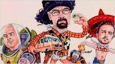 18 increíbles 'mash-ups' de Pixar con otros personajes de películas