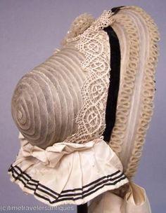 Spoon bonnet - 1860s
