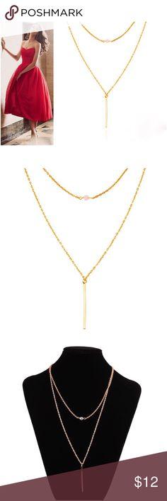 Golden chain necklace Golden chain necklace Jewelry Necklaces