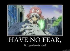 D. Gray-man -  Allen Walker - it any one can rock the octopus it is him XD