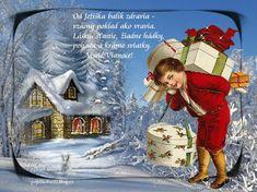 Krásne Vianoce-gif Snow Globes, Merry Christmas, Celebrations, Painting, Events, Home Decor, Art, Merry Little Christmas, Happenings
