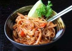 Pad Thai-from Wendy; can use soy sauce instead of Tamar and fish sauce if you don't have the real thing? Very good!