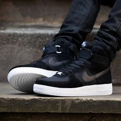 Nike Shoes OFF!> What we sayin to the Nike Air Force 1 High Trainer? Available in two colour-ways. Sneaker Outfits, Nike Outfits, Nike Air Shoes, Nike Shoes Outlet, Mens Fashion Shoes, Sneakers Fashion, Cheap Fashion, Fashion Rings, Men's Fashion