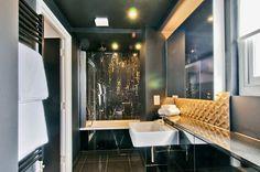 Go Native Hyde Park London - the bathroom in a 2-bedroom serviced apartment.