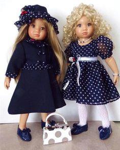 Handmade Coat and Dress Set For Kidz N Cats Dolls