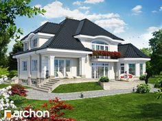 Projekt domu Rezydencja w Myślenicach 2(P) - ARCHON+