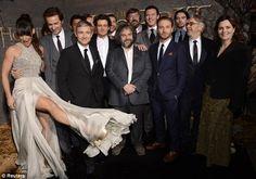 "The Hobbit premiere... Richard's looking at her leg like ""damn, elven girls have nice legs"""