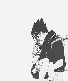 I wish we had gotten this scene right before Sasuke left. I just want to know how long he stayed with her before he met with the Sound Four. What did he think about leaving the girl that's so desperately in love with him she would scream it at him when he was trying to leave their home? Does Sasuke reciprocate Sakura's feelings or not? That's all I want to know before the end of the series.