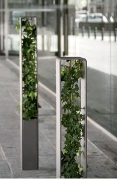 Security bollard for public spaces | HEDERA bollard