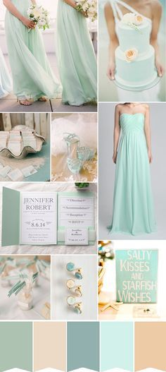 25 Hot Wedding Color Combination Ideas 20162017 and Bridesmaid